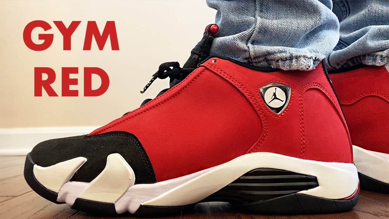 The JORDAN 14 GYM RED was EXTREMELY LIMITED!