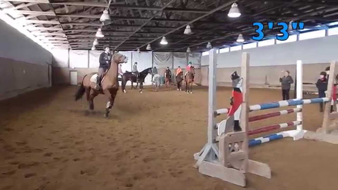 Red Coat Farm High Jump 2014-to 5&396&quot! - YouTube