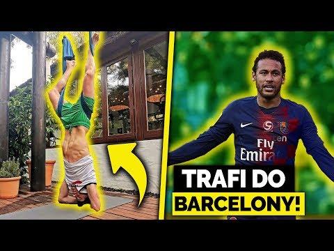 Lewandowski i DZIWNY TRENING na wakacjach! Neymar CORAZ BLIŻEJ FC BARCELONY!