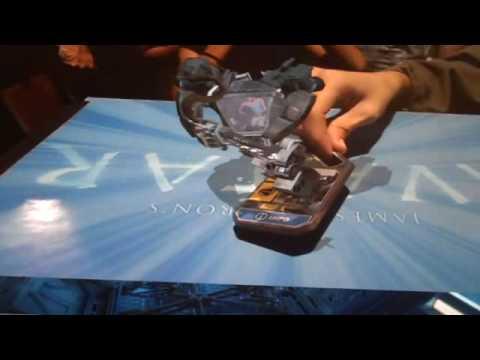 James Cameron's Avatar Toys Augmented Reality Demo