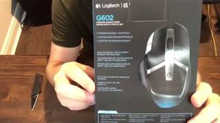 Unboxing & Review: Logitech G602 Wireless Gaming Mouse Plus Comparison of the G502