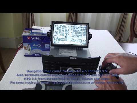 MB NTG 4.5 & NTG 4.7 conversion to China_Taiwan_Japan + navigation codes