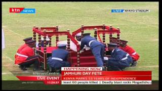 2016 JUMHURI DAY FETE: -  Watch spectacular parade by Kenyan Military Forces