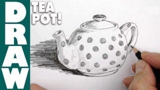 How to draw a Tea Pot