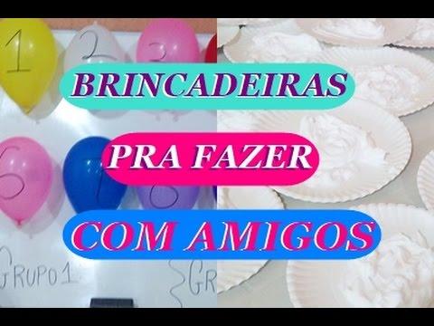 BRINCADEIRAS E DINÂMICAS PRA FAZER COM SEUS AMIGOS - Joelma Linhares