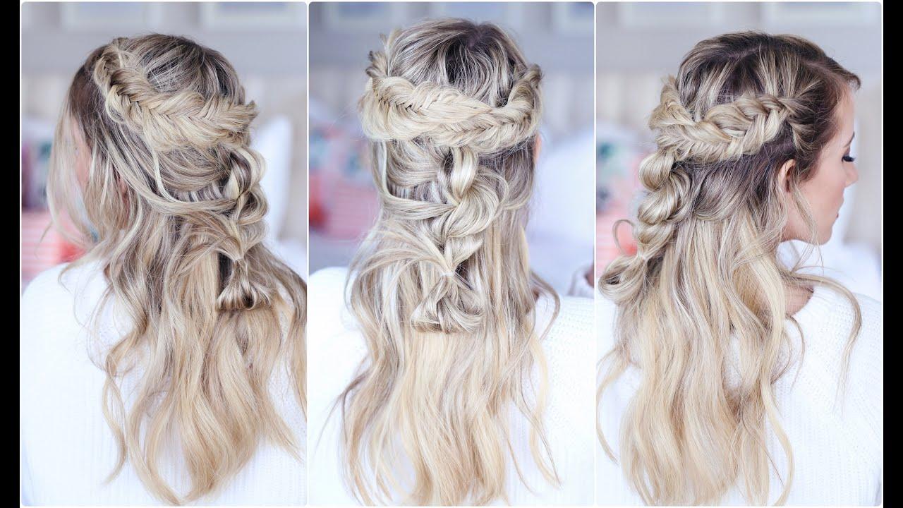 5 Hairstyles: Cute Girls Hairstyles - YouTube
