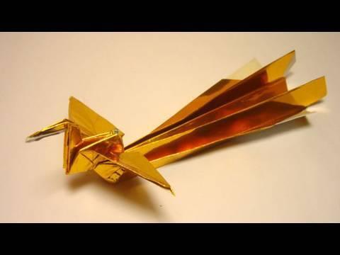 Жар птица оригами