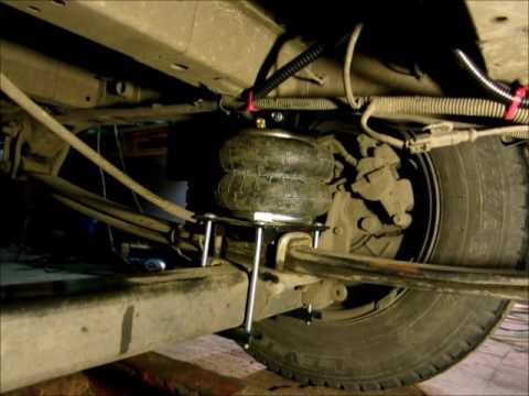 Дополнительная пневмоподвеска Drive-Rite арт. DR.02.012429 на Fiat Ducato