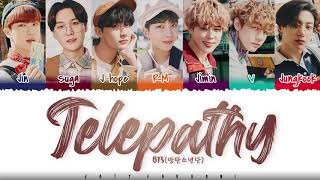 BTS – 'TELEPATHY' (잠시)' Lyrics [Color Coded_Han_Rom_Eng]