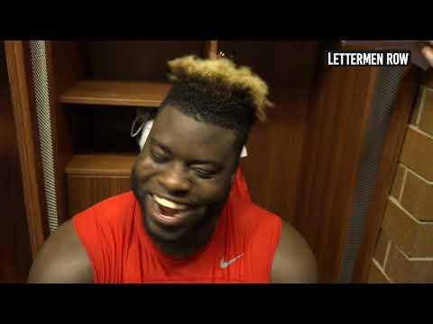 "Robert ""B.B."" Landers: Ohio State defensive lineman talks Buckeyes second-straight Big Ten title"