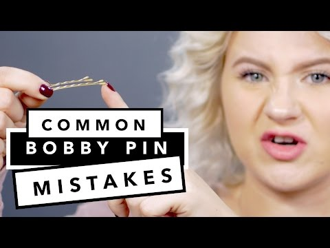 Common Mistakes With Bobby Pins | Milabu