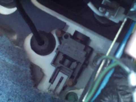 Inertia / Fuel Cutoff Switch 1996 Ford Explorer V8 50 AWD XLT - YouTube