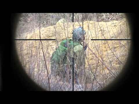 Airsoft Sniping - Rolling with my M40A1, Scope Cam