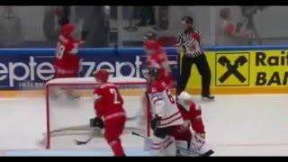 белоруссия - Канада 0 - 8 / Хоккей / Чемпионат Мира 2016 / Обзор матчка / 09.05.2016