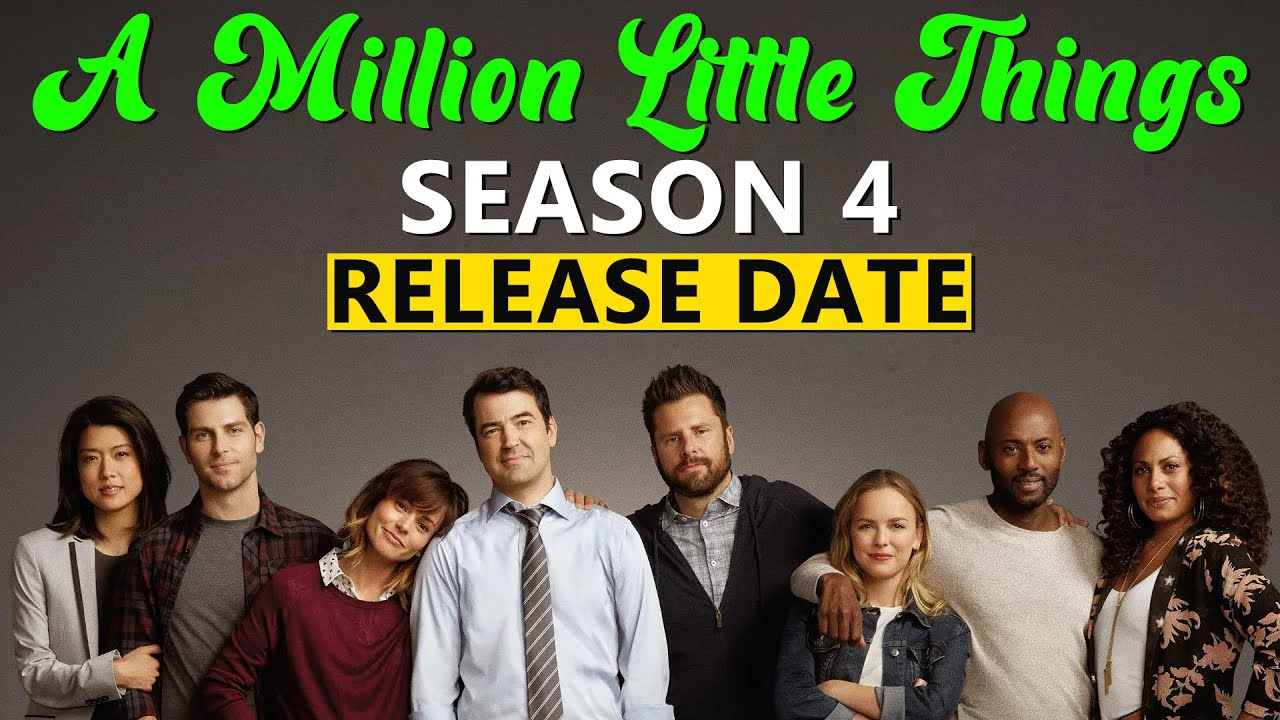 Download A Million Little Things Season 4; (2021) Release Date, Preview, And more latest update [English sub]