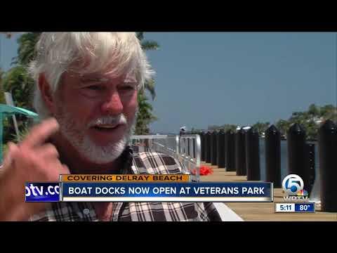 New Boat Docks At Delray Beach Veterans Park Now Open