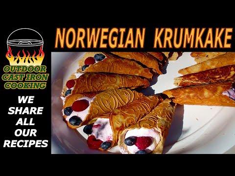 Norwegian Krumkake