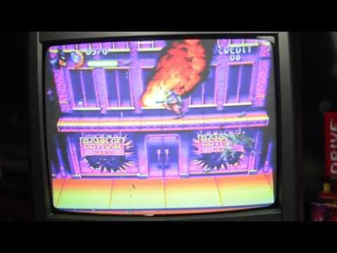 The Adventures of Batman & Robin - Testando no novo Mega Drive (OFFSCREEN) (+Zoom)