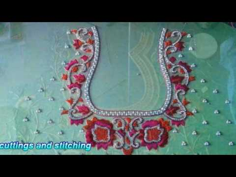 Indian saree blouse |  Latest saree blouse designs | Blouse Cutting and Stitching