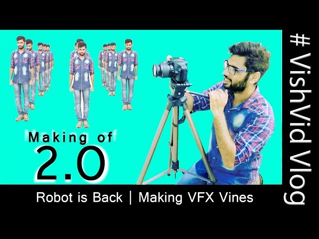 Making of 2.0 - Robot is back | 3D Featurette | VFX | VishVid Productions
