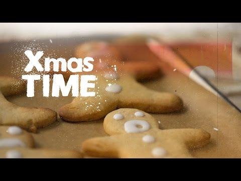 Имбирные Человечки    Новогодние и Рождественские Рецепты на FOOD TV