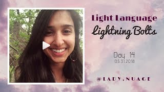 Light Language - Lady Nuage - Lightning Bolt #14