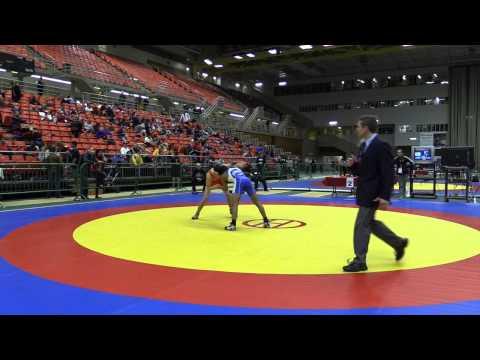 2014 Junior National Championships: 50 kg Bronze Eric Robertson vs. Jordan Raghunandan