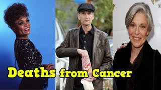 Top Hollywood Famous Faces Who DIED of Cancer