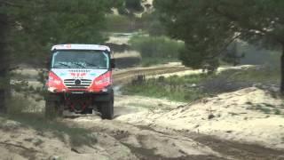 Queen 69 testing for Dakar 2014