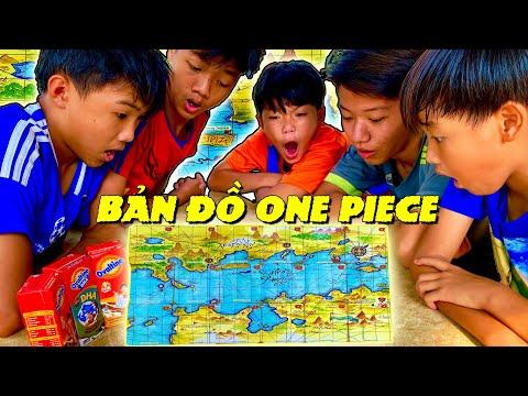 Anh Ba Phải   Đại Chiến Săn Thẻ - Tìm Ra Bản Đồ One Piece Cùng Ovaltine