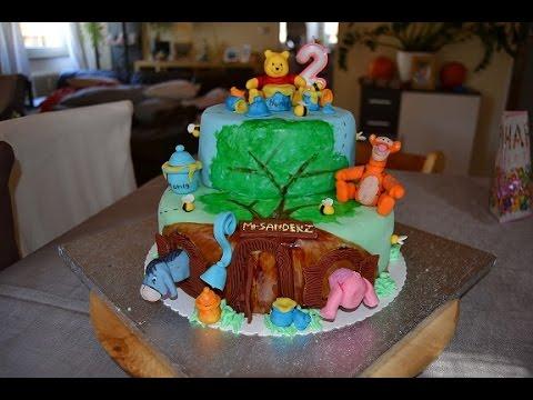 Winnie Pooh Torte  Youtube