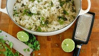 {rice Recipe} Coconut Lime Cilantro Rice By Cookingforbimbos.com
