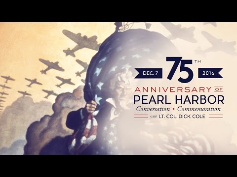 75th Anniversary of Pearl Harbor: Conversation and Commemoration