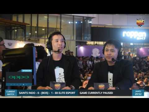 MSC Indonesia Final Day 2: E8  VS  Saints Indo Second Round
