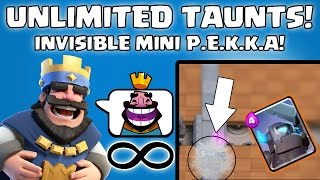 6 HIDDEN SECRETS ABOUT CLASH ROYALE! - Easter Eggs , Glitches , Cheats