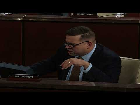 U.S. Rep. Tom Garrett discusses H.R. 4433, the Securing DHS Firearms Act