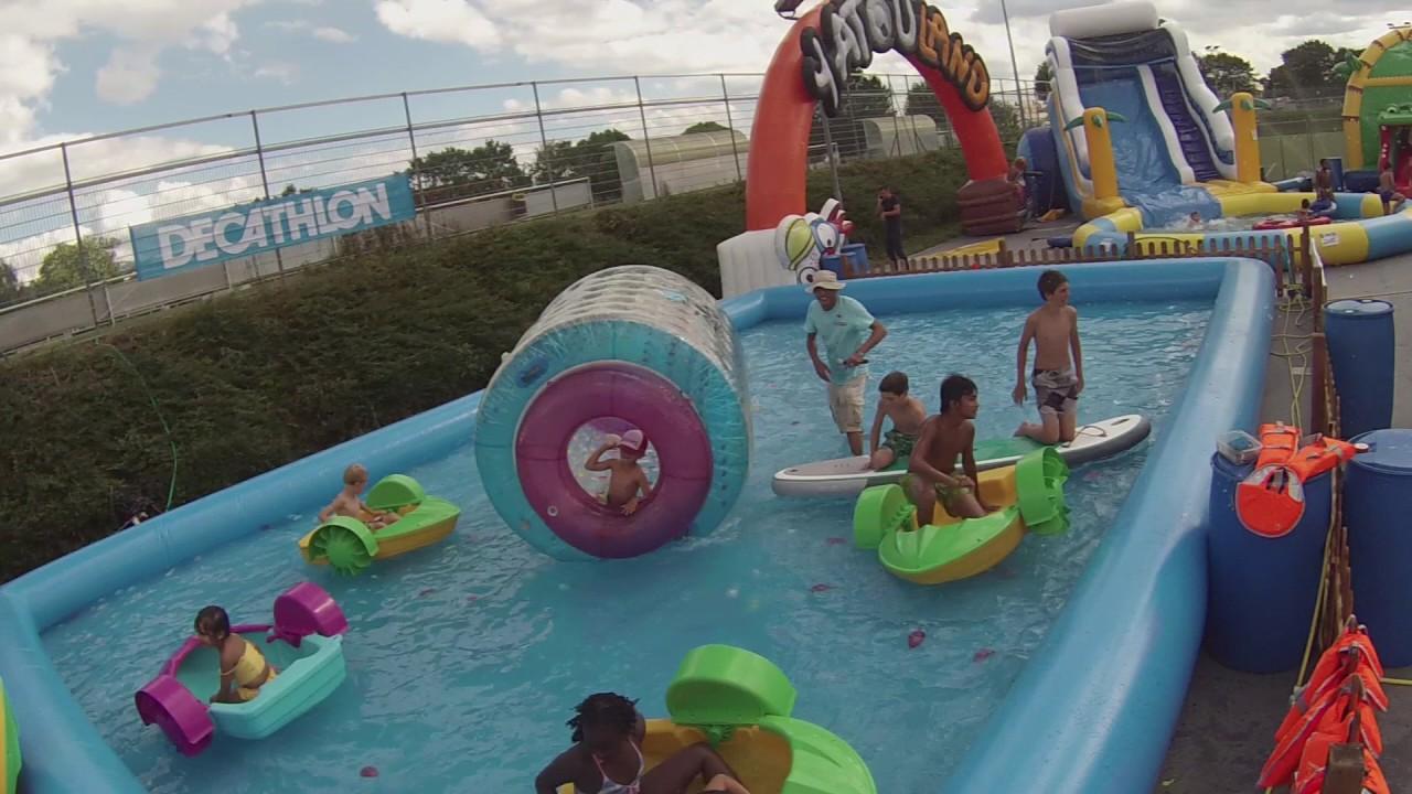 Yatouland Aquatique Parc Genève Vernier Youtube
