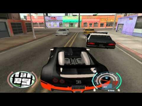 GTA SA - Bugatti Veyron Super Sport