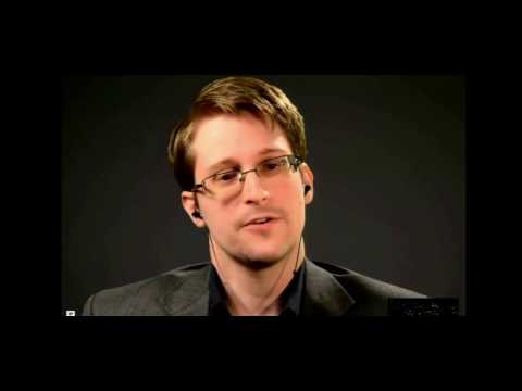 Edward Snowden Videoconference at McGill University, Montreal - 02/11/2016