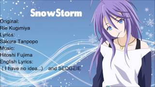Snowstorm:rosario+vampire:full English Cover:[sedgeie]