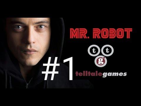 Mr  Robot telltale game walkthrough part 1 | mr robot:1 51exfiltration