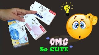 Best out of Waste Soap boxes craft idea, #diycraft | turn something Cute out of waste