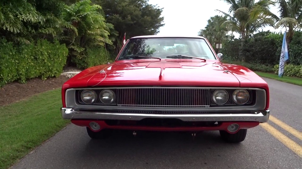 1968 Dodge Charger For Sale $47000.00 239-405-1970 Tom