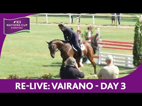 Re-Live | FEI Nations Cup™ Eventing | Show Jumping CCI3* | V