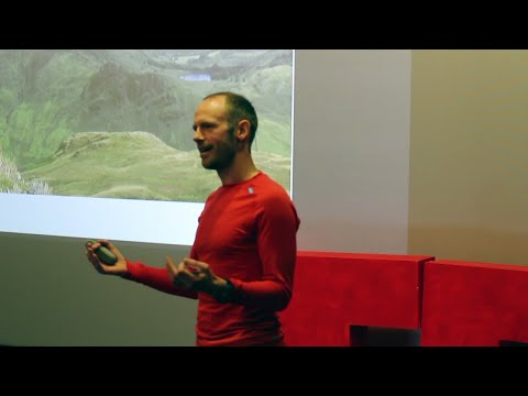 Lessons from ultra running | Damian Hall | TEDxAberystwyth