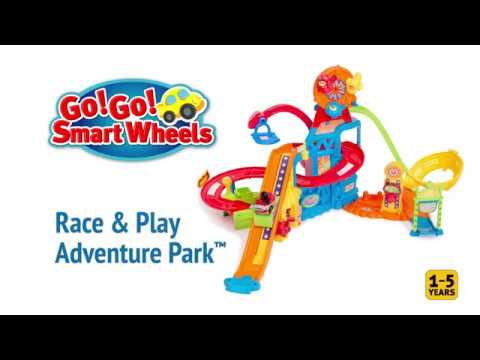 VTECH RACE AND PLAY ADVENTURE PARK INSTRUCTIONS