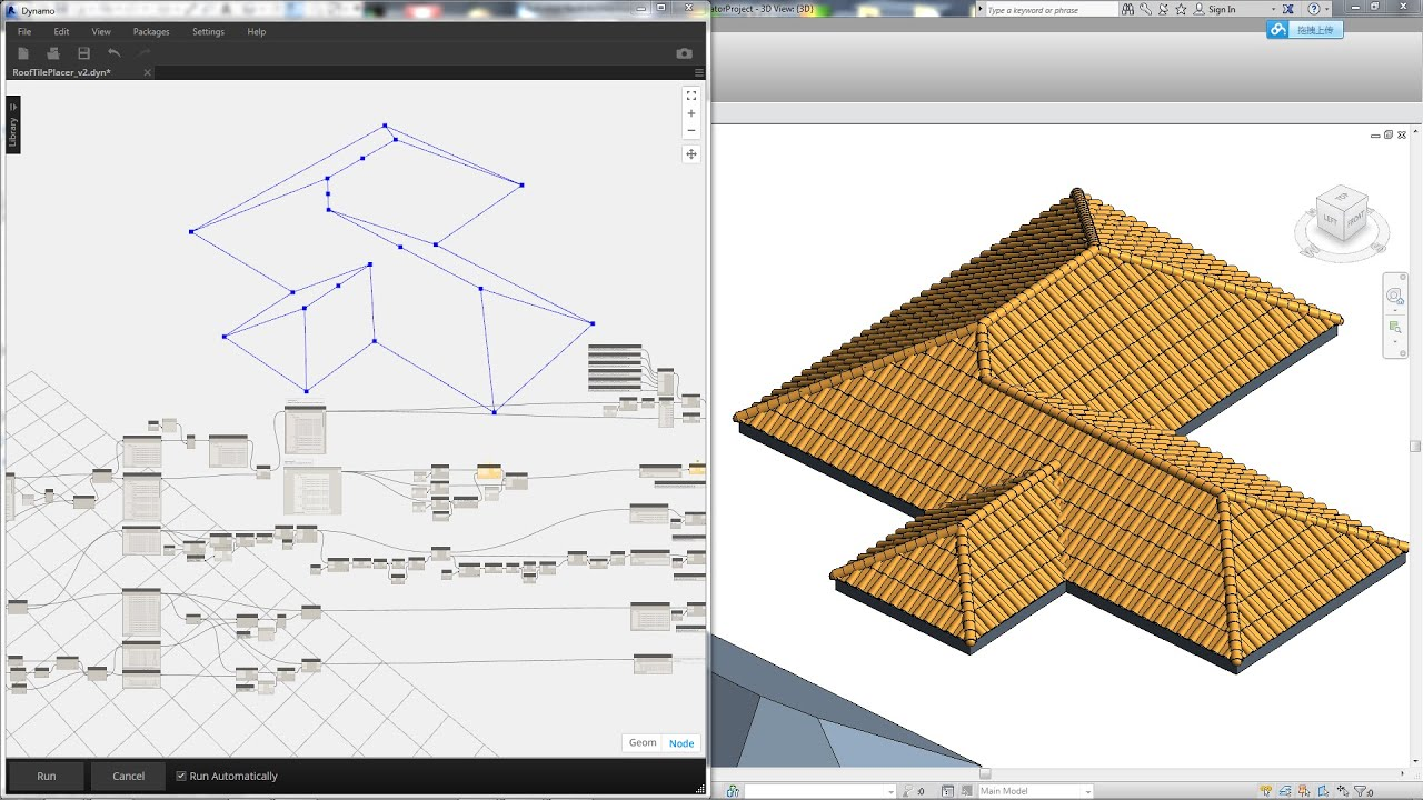 Revit Tips Roof Tile Generator By Dynamo Youtube