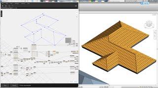 Revit Tips - Roof Tile Generator by Dynamo