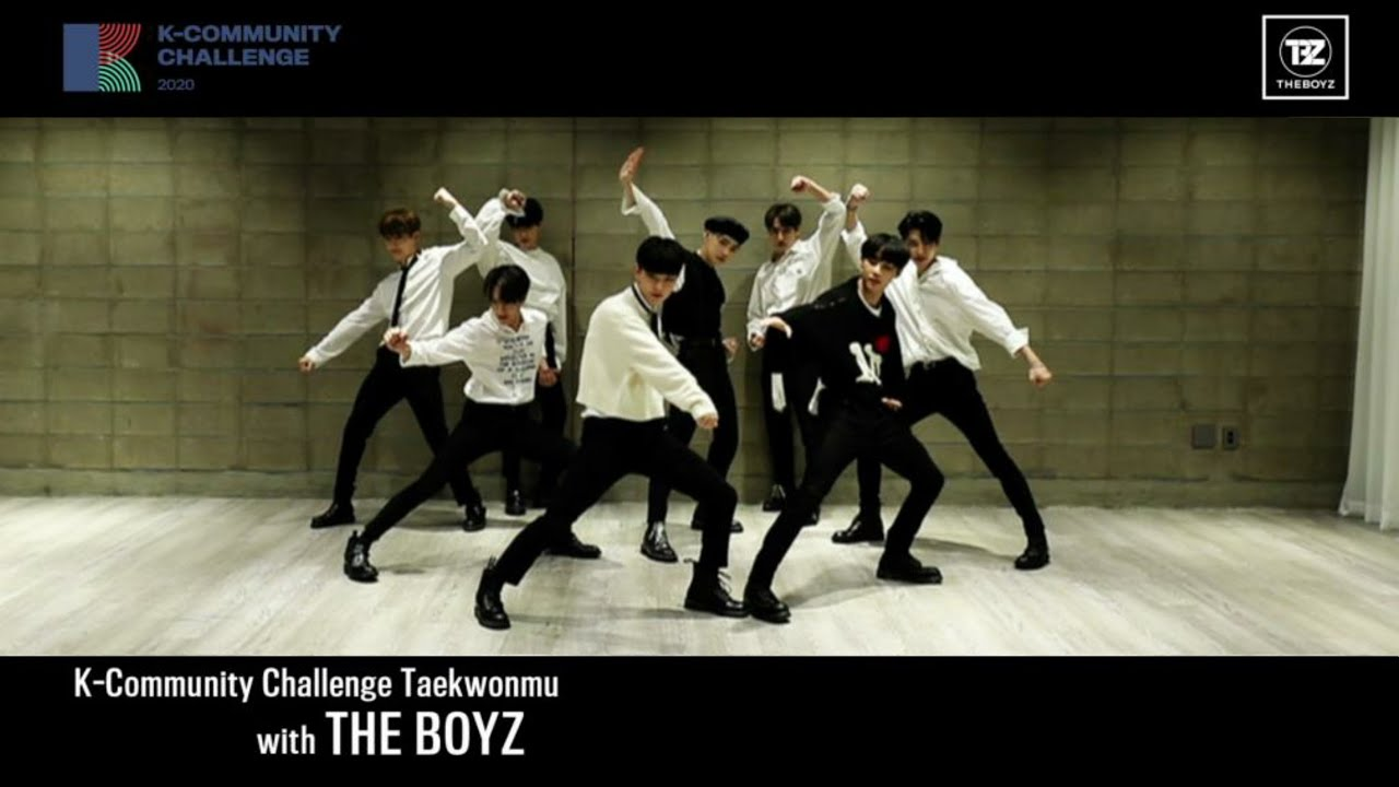 [K-Community Challenge] Taekwonmu with THE BOYZ