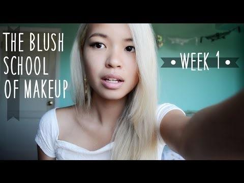 Blush School of Makeup (Week 1): Introduction & Typical Day - YouTube